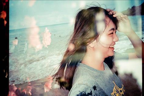 笑容綻放出的花朵